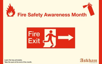 Launching learning themes every month, with Fire Safety Awareness Month